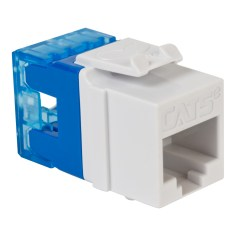 CAT5e RJ45 White Keystone Jack HD IC1078F5WH