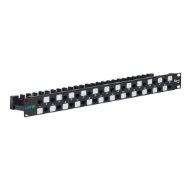 CAT6A UTP Patch Panel with 24 Ports and 1 RMS ICMPP246AU