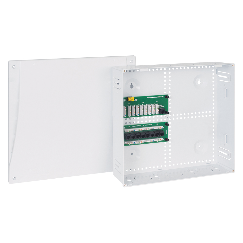 14-inch Plastic Wiring Enclosure Combo with Cover ICRESDP14W
