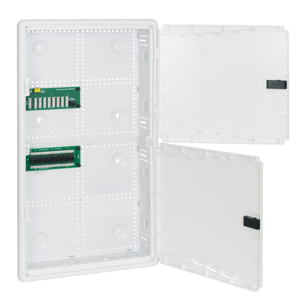 28-inch Plastic Wiring Enclosure Combo with Doors ICRESDP28W