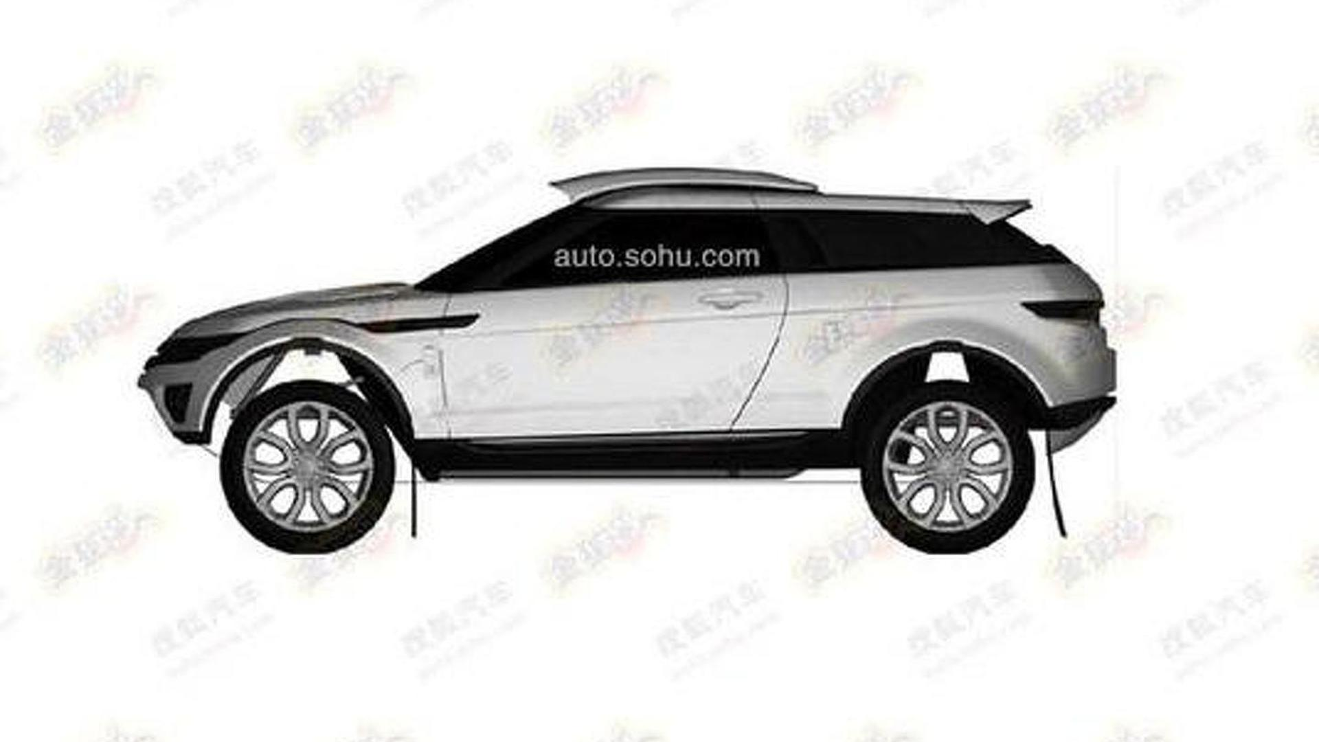 Rally looking Range Rover Evoque is the Milner LRM 1