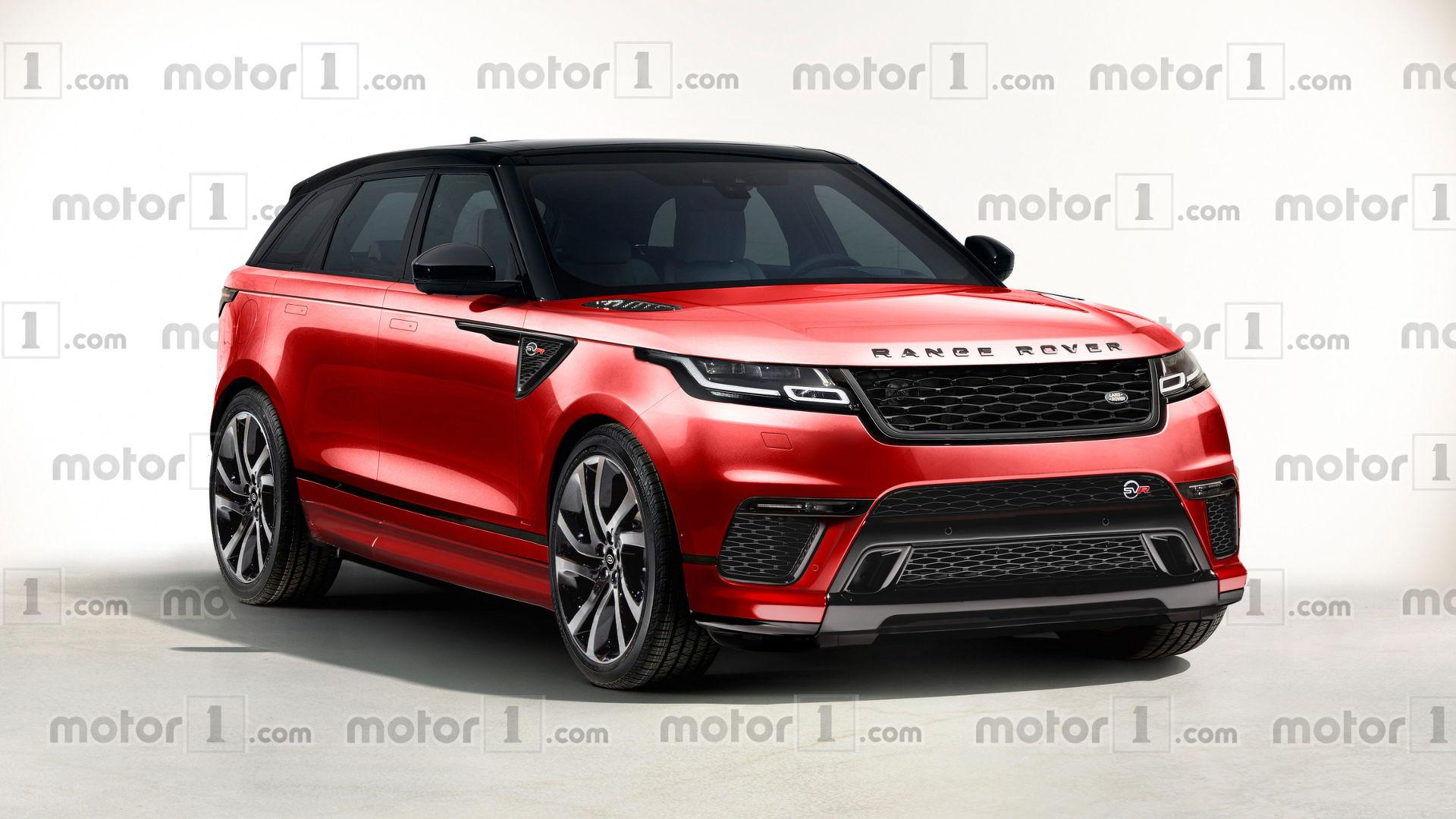 We Can ly Hope The Range Rover Velar SVR Will Look This Nice