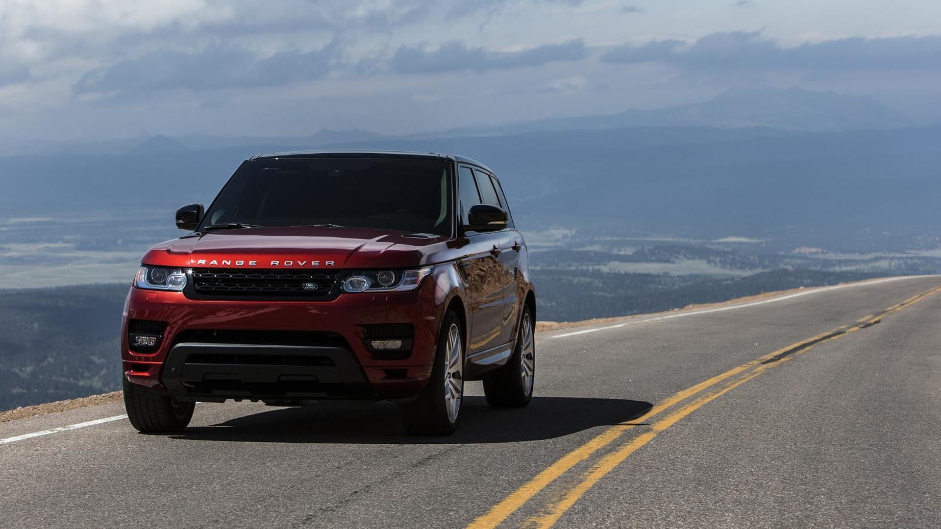 2014 Range Rover Sport sets production SUV record at Pikes Peak