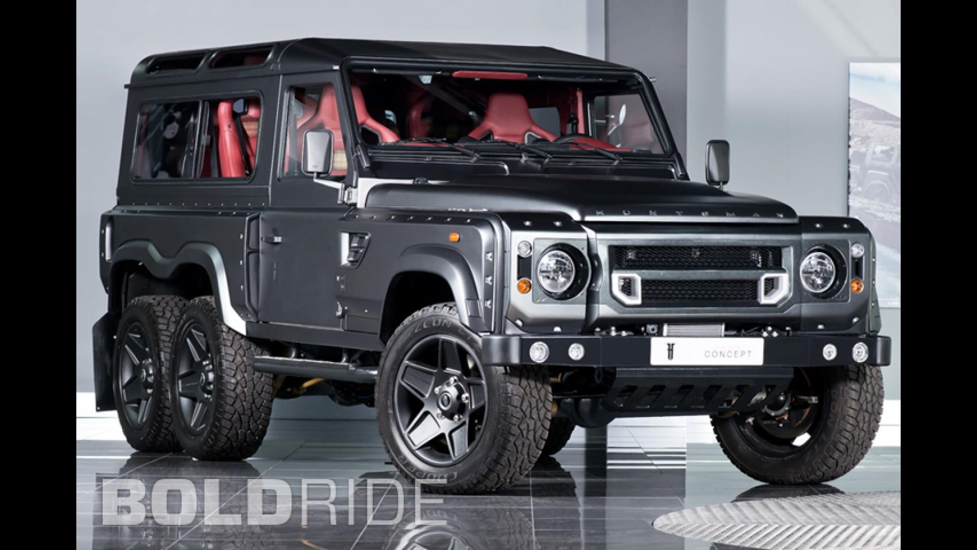 Land Rover Defender 110 Wallpaper