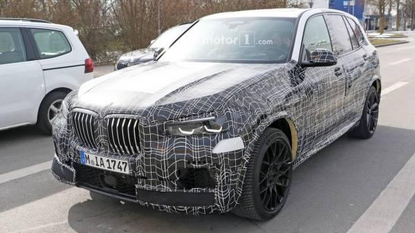 2020 BMW X5 M new spy photos | Motor1.com Photos