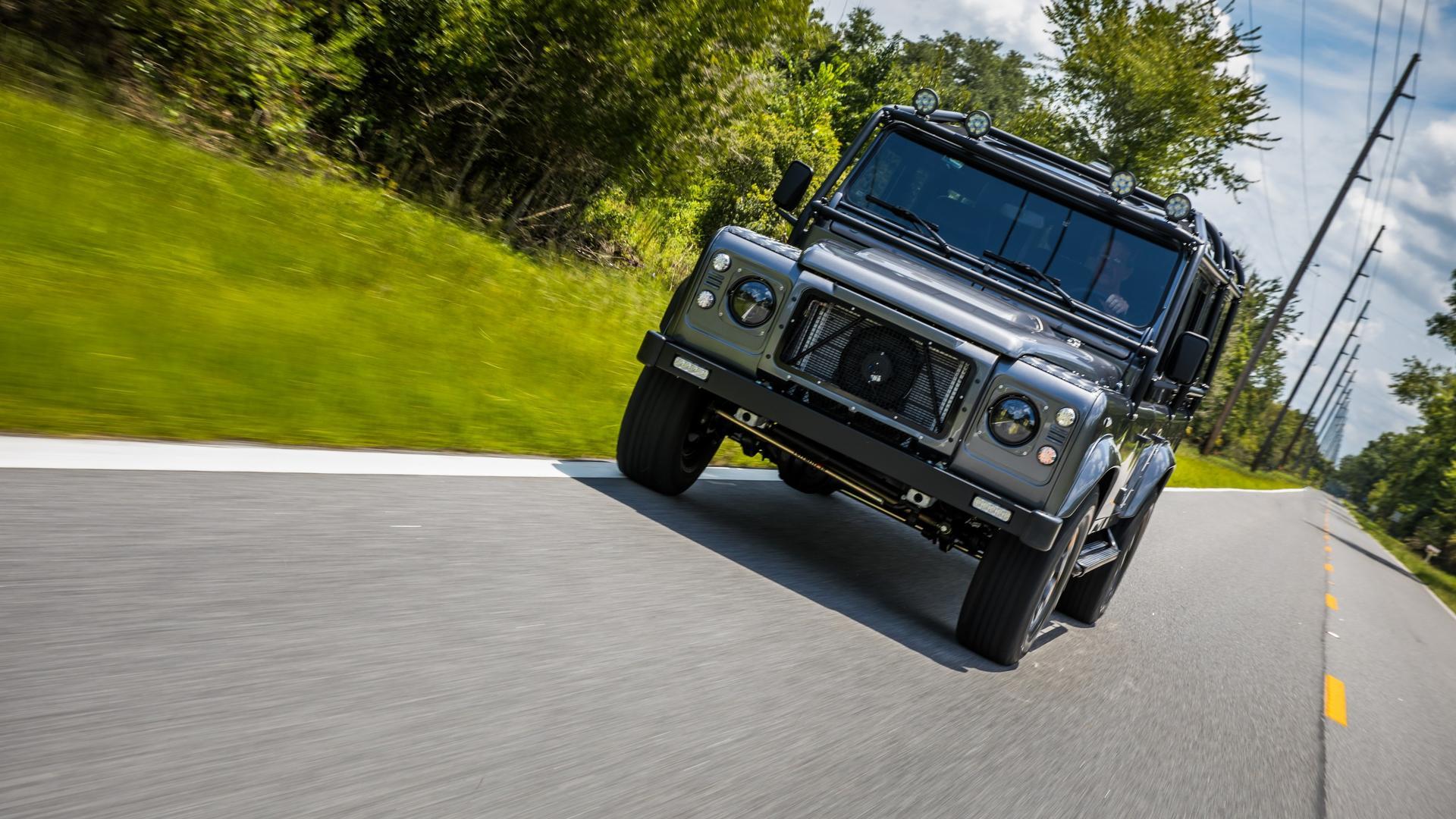Land Rover Defender Project Kingsman by East Coast Defender