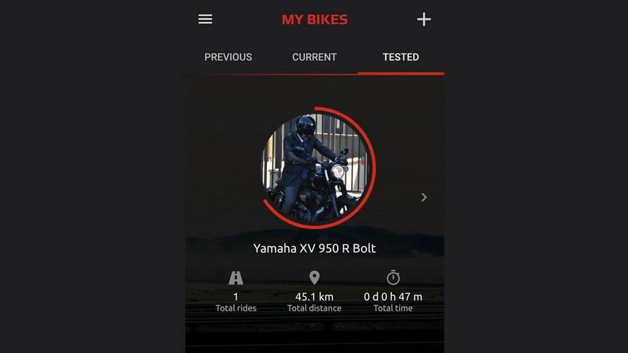 App Yamaha MyRide