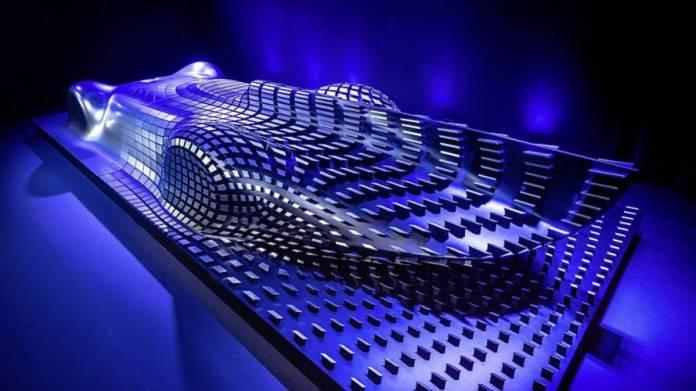 Mercedes Aesthetics Progressive Luxury sculpture