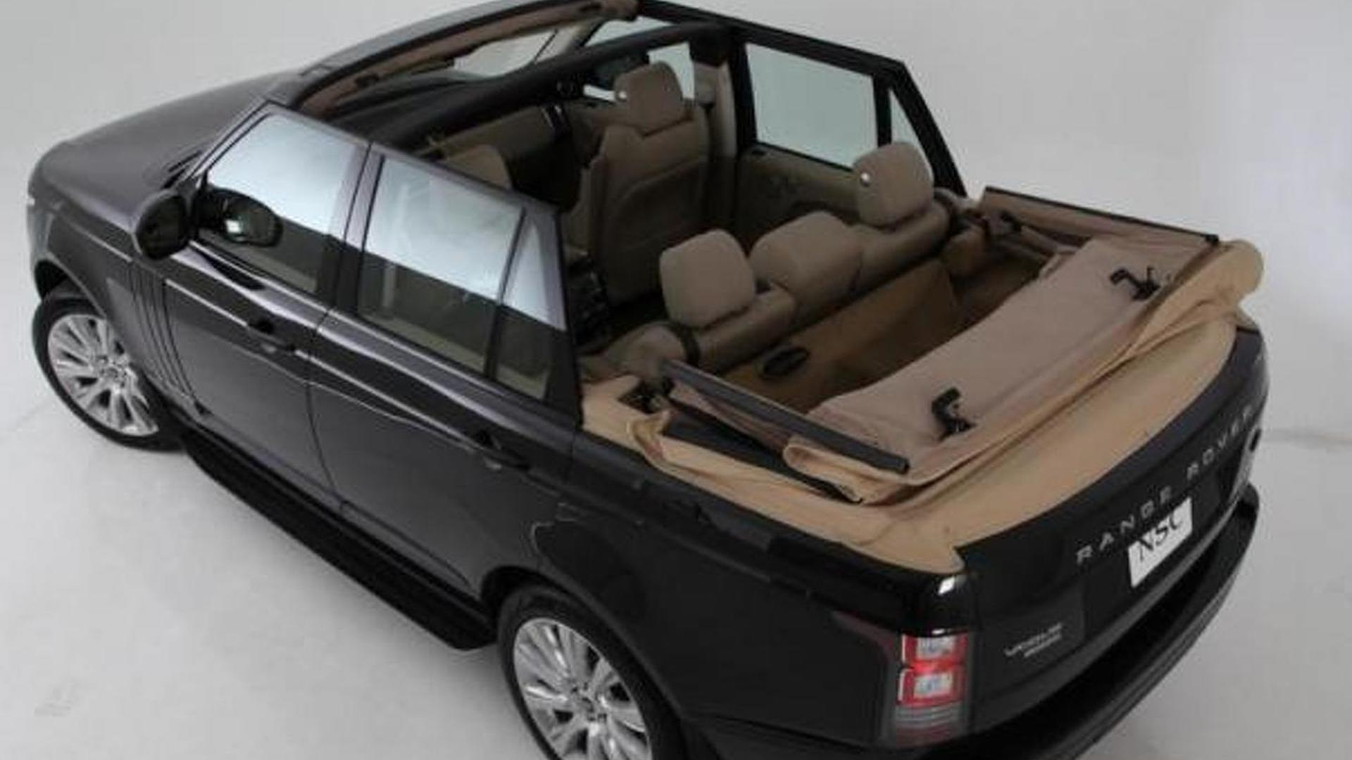 Newport unveils their Range Rover Convertible