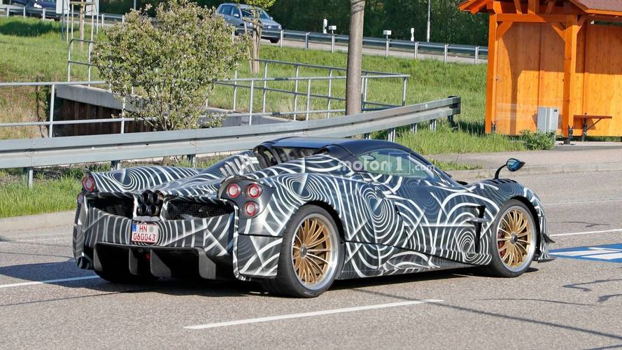 Pagani Huayra BC Roadster Spy Photos