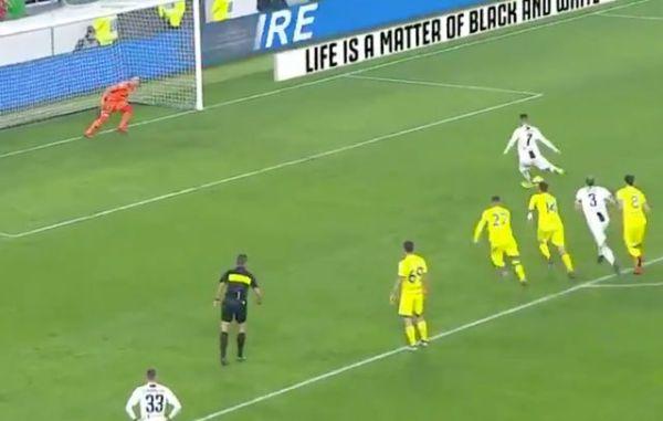 Video: Cristiano Ronaldo missed penalty Juventus-Chievo