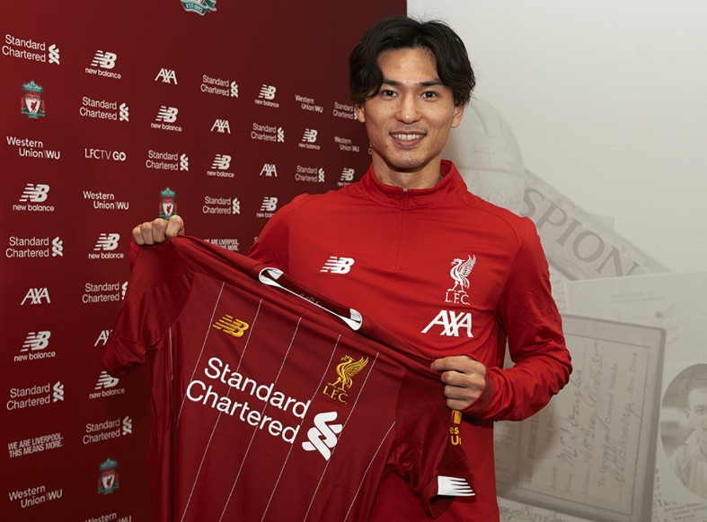 Image result for takumi minamino liverpool