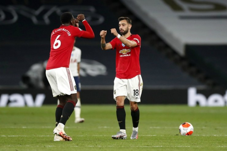 paul pogba and bruno fernandes mufc