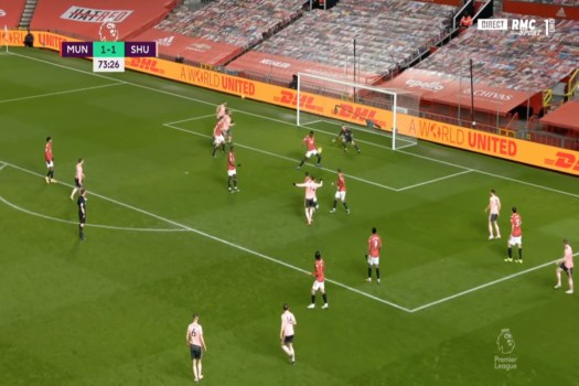 Video: Sheffield make it 2-1 after woeful Man United defending