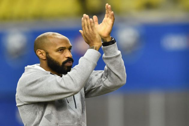 Thierry Henry as a manager