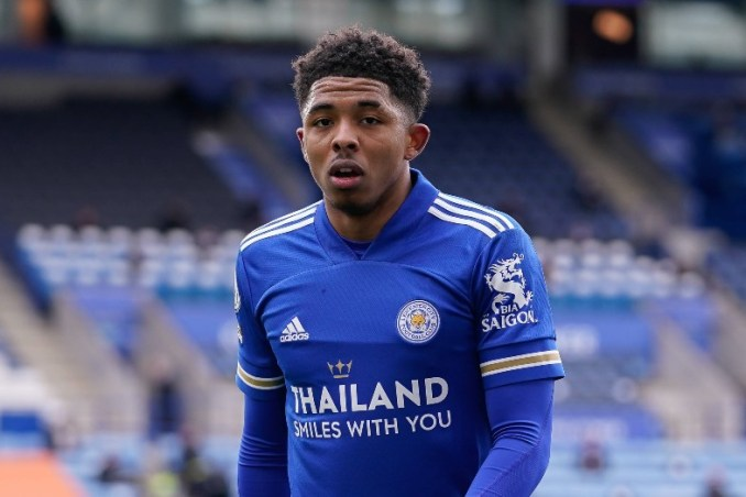 Leicester City CB Wesley Fofana