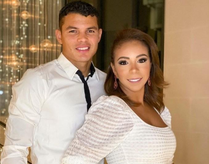 Silva and wife