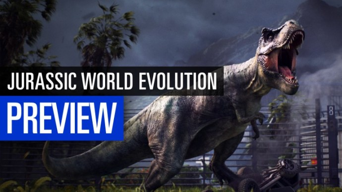 Jurassic World Evolution: Preview video of the Dino construction game