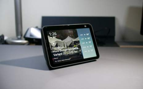 Amazon Echo Show 8 (2021) Review: It adds a camera that tracks you
