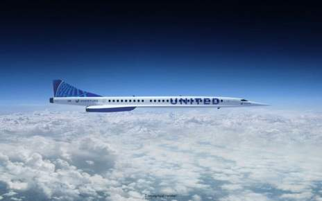 Supersonic passenger travel given major boost by United Airlines