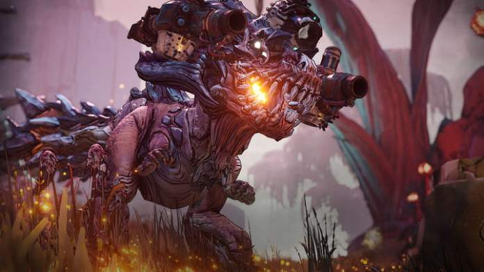 Borderlands 3 enemy approaching the player.