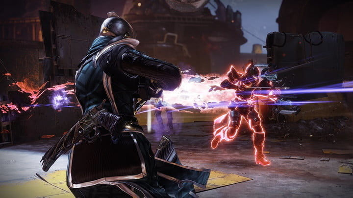 Guardians fighting in Destiny 2.