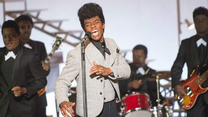 Chadwick Boseman in Get On Up.