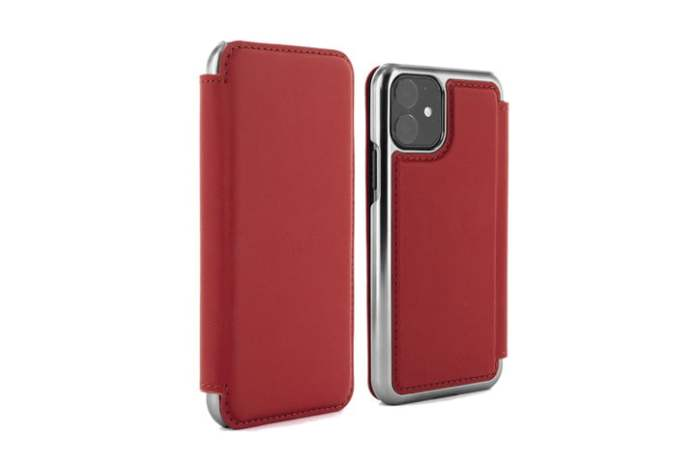 Greenwich Blake Leather Folio Case for iPhone 11.