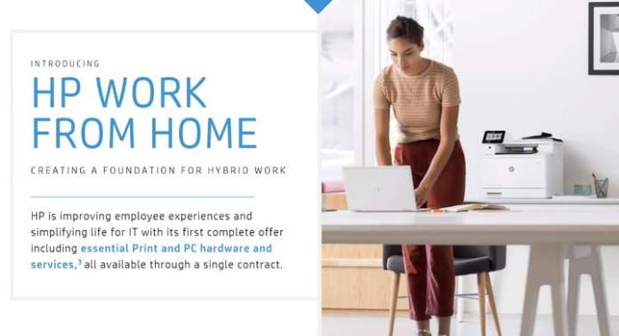 HP launches new managed work from home service.