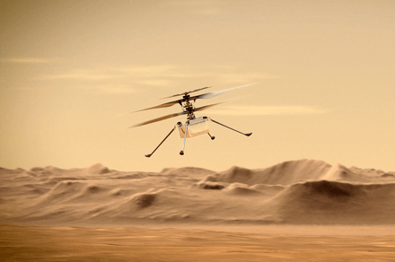 NASA's Mars helicopter aiming for new record on next flight