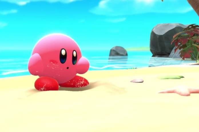 Kirby and the Forgotten Land at Kirby Beach.