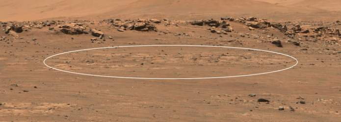 A patch of land on Mars is set to be discovered by NASA's Perseverance rover.