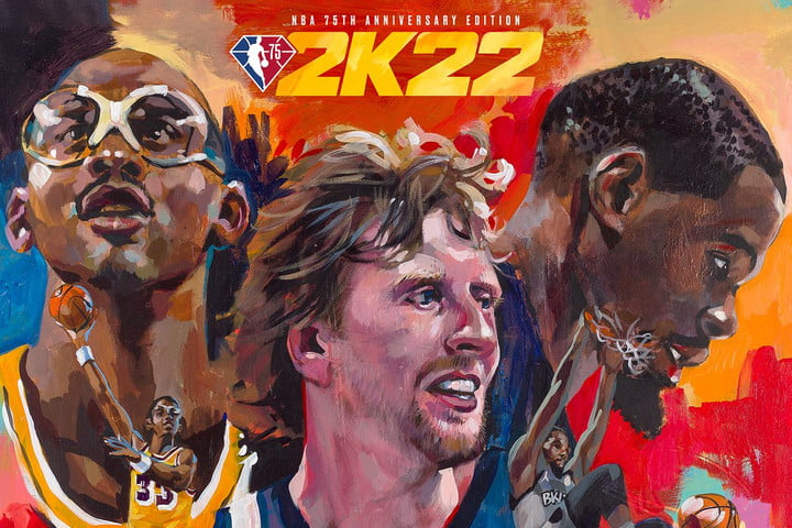 Three of the cover stars for NBA 2K22.