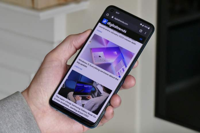 oneplus nord ce 5g review browser