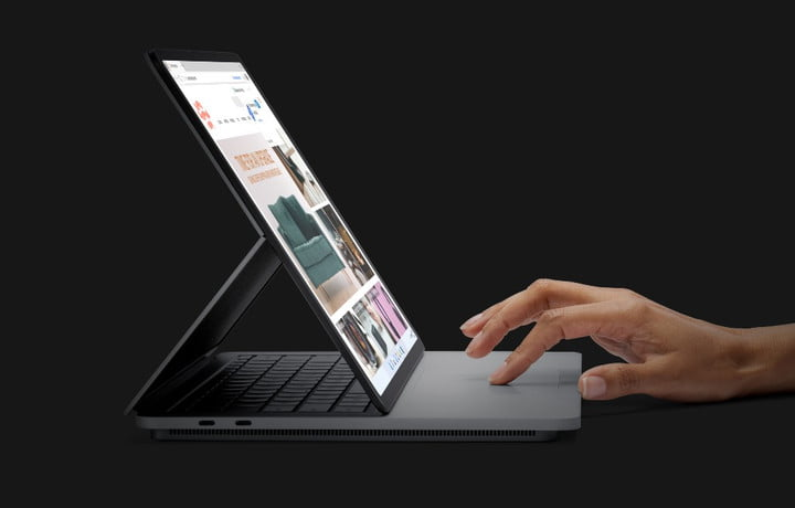 Microsoft Surface Laptop Studio announced at the Surface event.