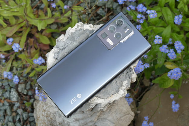 ZTE Axon 30 Ultra from the back