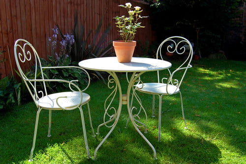 how to identify vintage wrought iron