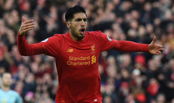 Emre Can heaps praise on Liverpool's link man
