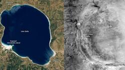 Mars'a inmeye saatler kala NASA'dan yeni bir Salda Gölü paylaşımı geldi