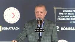 Cumhurbaşkanı Erdoğan, Adana'da toplu açılış törenine katıldı