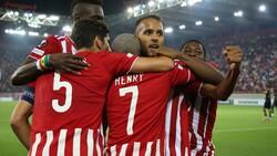 Olympiakos Antwerp'i 2-1 yendi