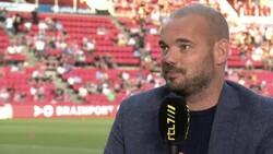 Wesley Sneijder: Beşiktaş'ın golündeki faul kararı doğru