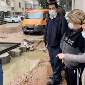 İzmirlilerden belediyeye foseptik çukuru tepkisi