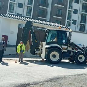 ASKİ, Çin Büyükelçiliği önünde çalışma başlattı