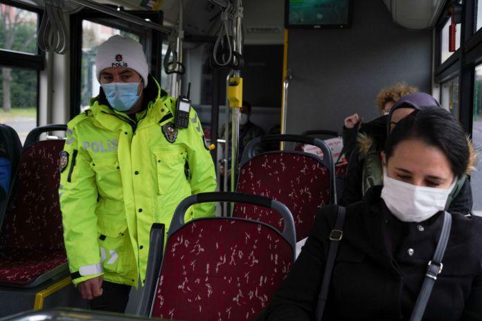 İstanbul da toplu taşıma araçlarında koronavirüs denetimi  #4