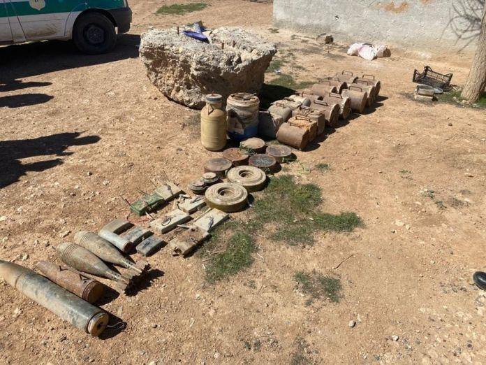 Terör örgütüne büyük darbe: Yüzlerce kilogram patlayıcı ele geçirildi #4