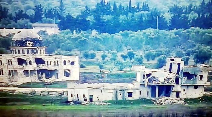 Suriye de saldırı hazırlığındaki teröristlerin vurulma anı #2