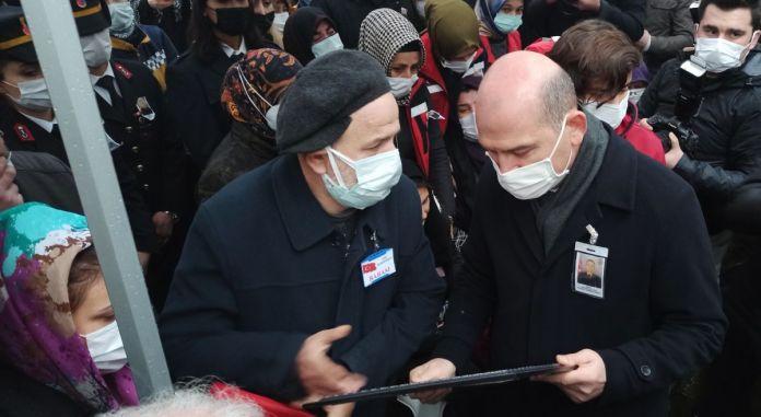 Süleyman Soylu Bursa'da şehit cenazesine katıldı #2