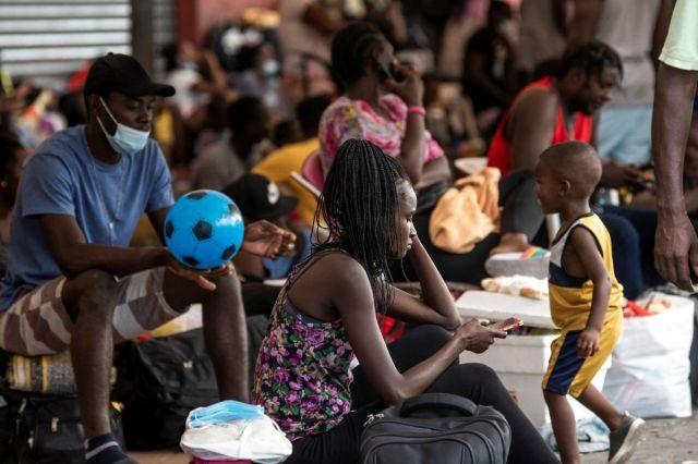 Meksika'dan Haitili göçmenlere sığınma hakkı #1