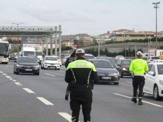 İstanbul da sürücüler havadan denetlendi  #2